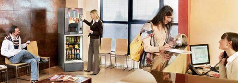 máquinas vending en centros de trabajo